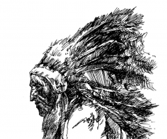常工手绘丨羽冠